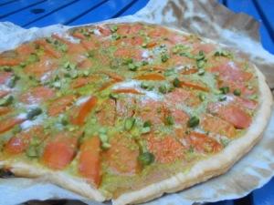 tarte fine abricots pistaches