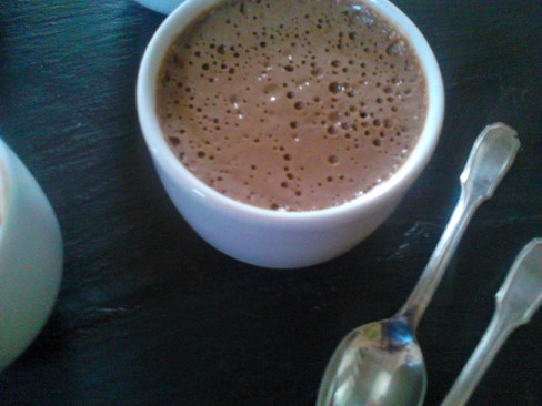 mousse chocolat tofu