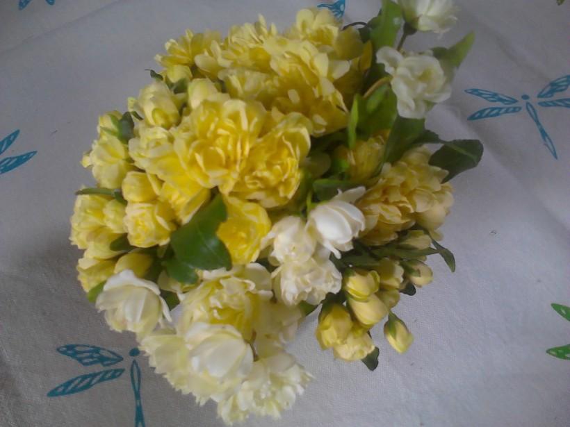 bouquet jroses jaunes