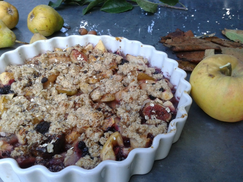 crumble fruits automne1