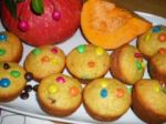muffins halloweens smarties