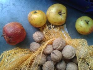 pommes et noix