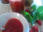confiture fraise kiwi