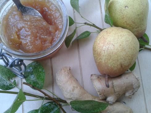 confiture poires gingembre 3