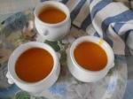 Crème de potimarron à l'huile d'olive