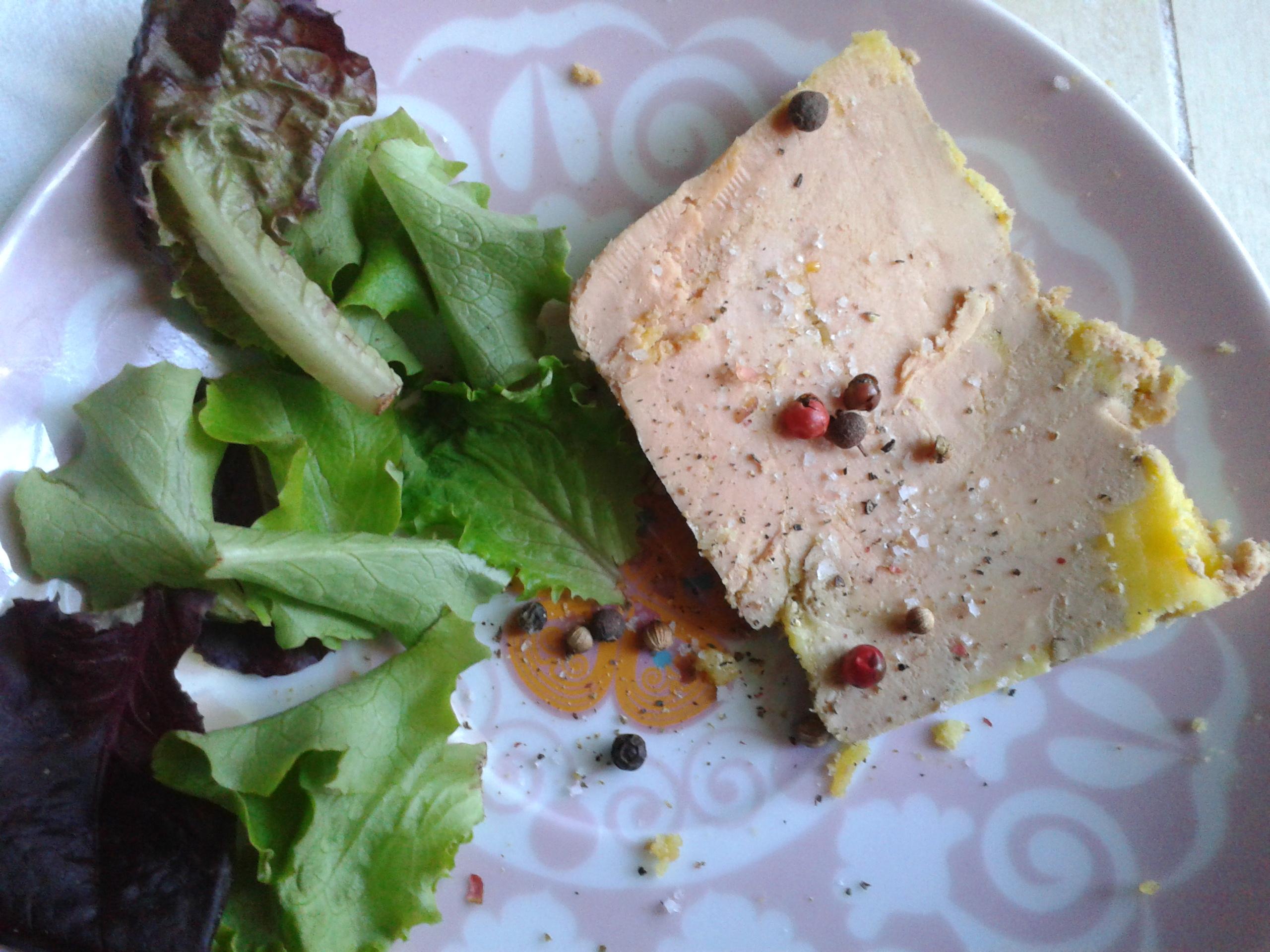 terrine de foie gras au floc de gascogne la cuisine de bulle. Black Bedroom Furniture Sets. Home Design Ideas