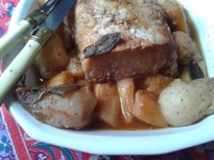 roti porc miel 2
