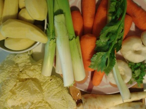 pot au feu légumes