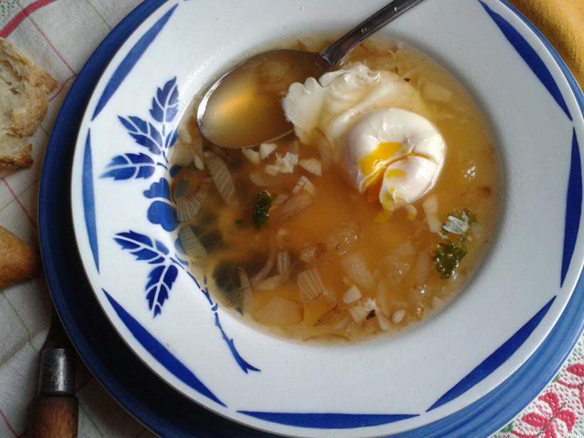 soupe a l'ail