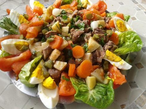salade boeuf
