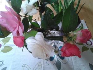 bouquet camelias