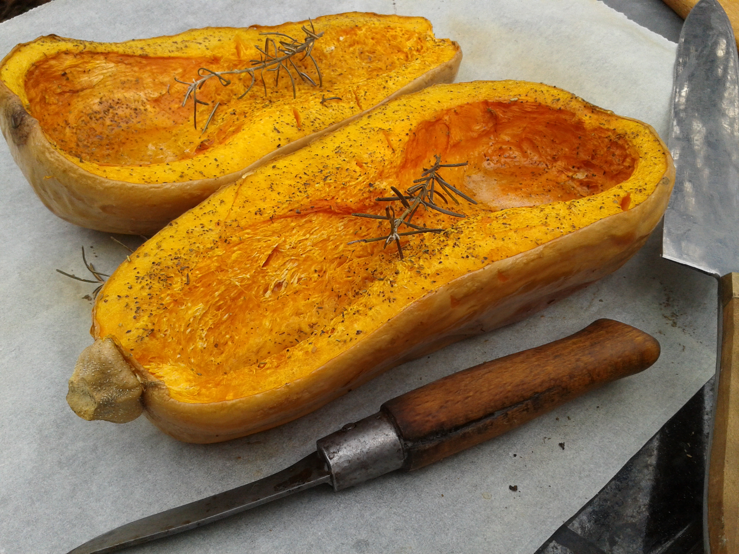 comment cuire courge butternut