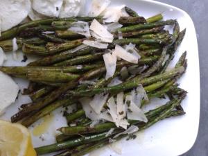 asperges vertes à la plancha