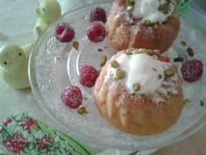 babas citron fraises chantilly