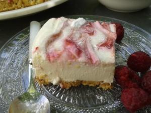 cheesecake framboises 1