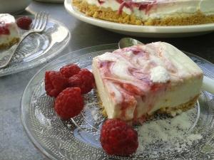 cheesecake framboises 2