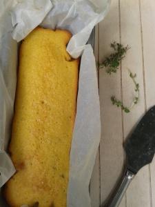 cake citron thym