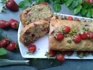 cake pistache fraise