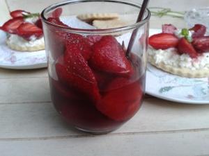 fraises balsamique