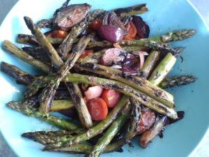 plancha legumes