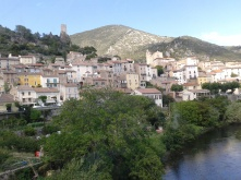 Roquebrun le village