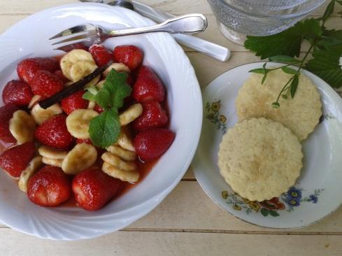 salade fraise banane