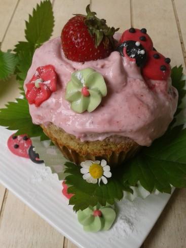 cupcake matcha fraise   (1)
