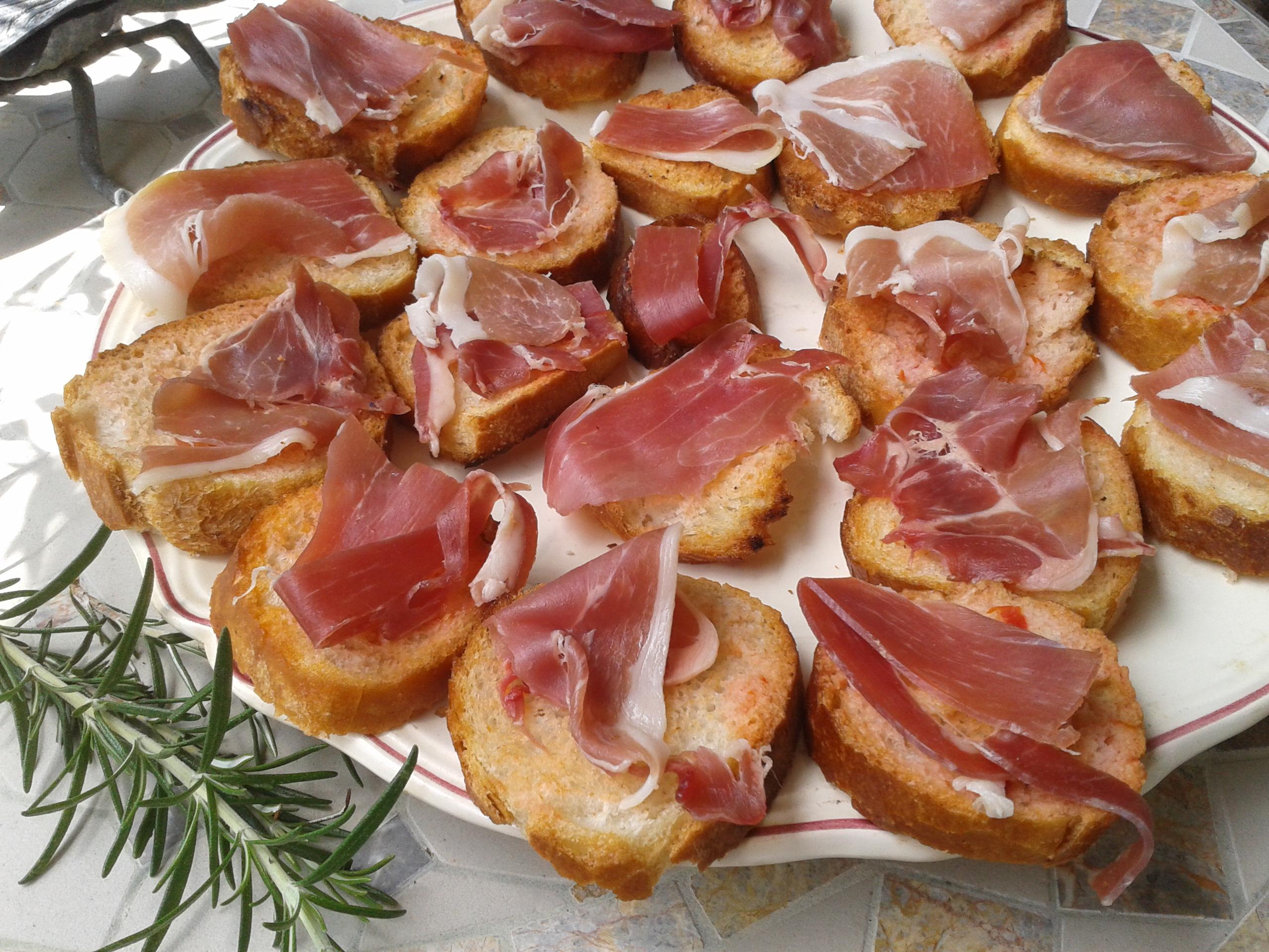 Pan con tomate la plancha ou pas bulle en cuisine - Cuisine espagnole tapas ...