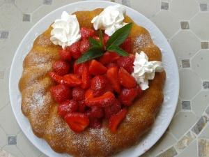 savarin fraise