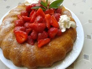 savarin fraises