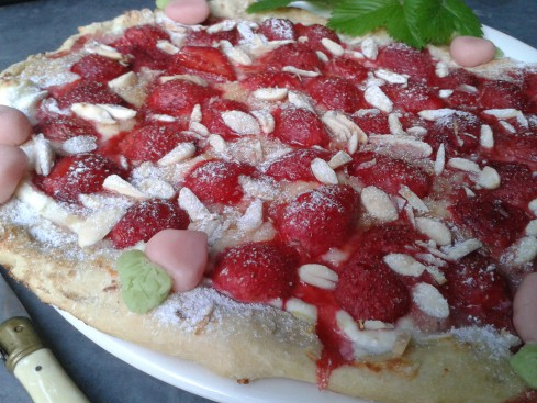 pizzas fraises