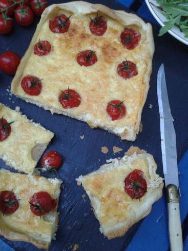 quiche tomates comté