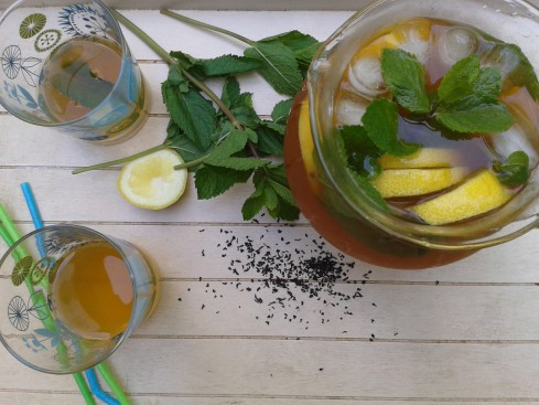 the glacé citron menthe