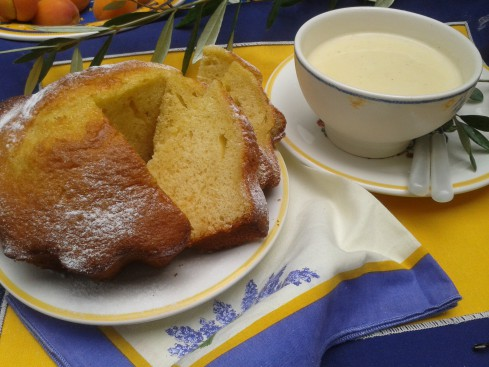 biscuit huile d'oliv et crème