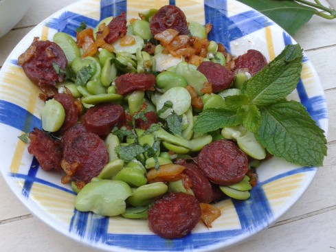 salade de fèves au chorizo (1)