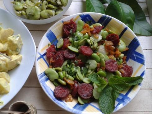 salade de fèves au chorizo (2)