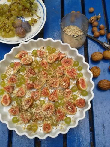 clafoutis figues raisins