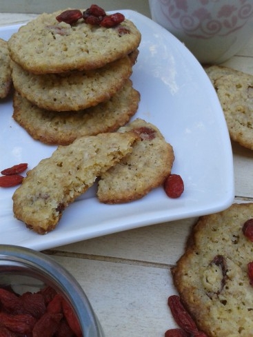 cookies baies de goji corn flakes