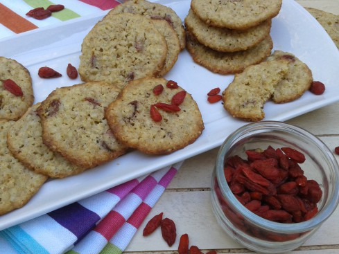 cookies baies de goji