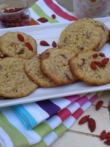 cookies crousilants baies de goji