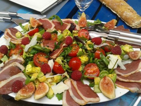 salade gasconne aux figues
