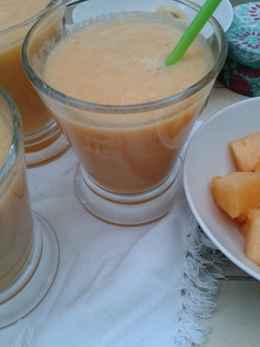 smoothie melon et litchi