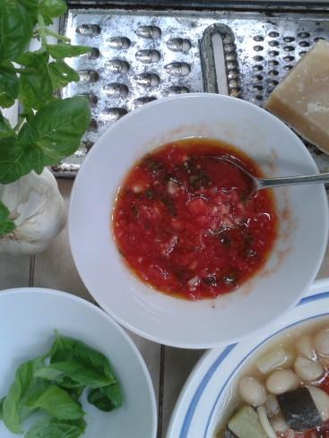 soupe au pistou le pistou
