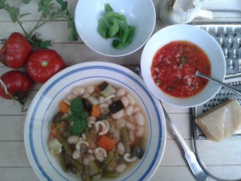 soupe pistou plateau