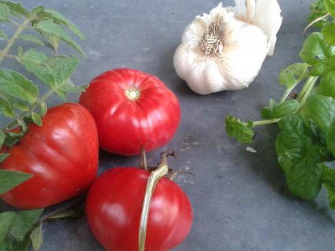 soupe pistou tomates basilic ail