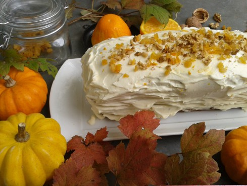 pumpkin carrot cake 1