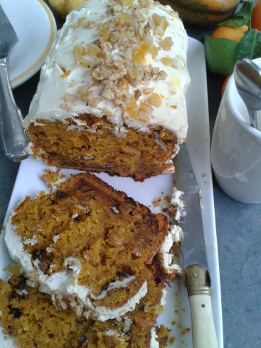 pumpkin carrot cake 5