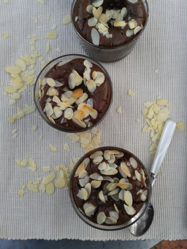 fondants chocolat amandes