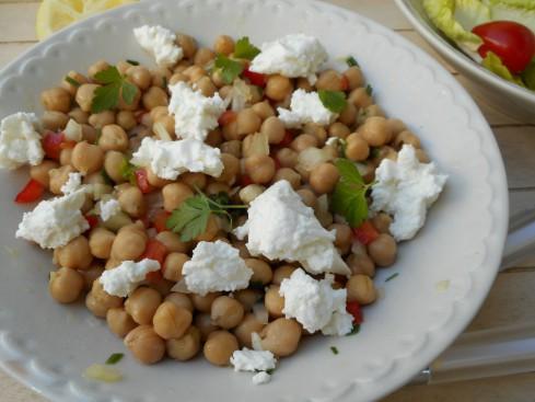 salade pois chiche feta 1
