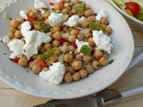 salade pois chiche feta 2